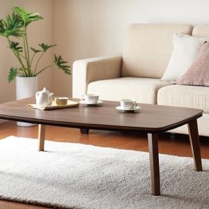 ナチュラルデザイン シンプルこたつテーブル【Banale】バナーレ/長方形(105×75cm) ブラウン