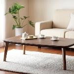 こたつテーブル 長方形(105×75cm) 【Banale】 ブラウン ナチュラルデザイン シンプルこたつテーブル【Banale】バナーレ